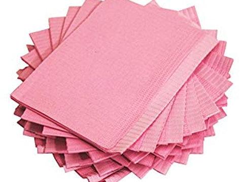 Pink Bibs 125 pkg