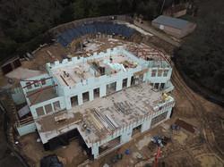 New built residential house