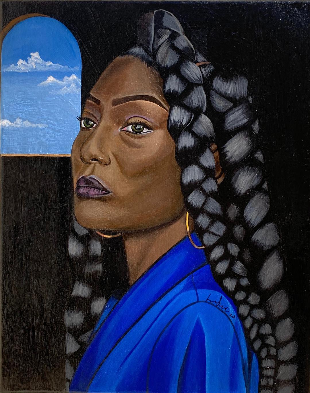 Portrait of Amira