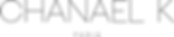 Logo Chanael K