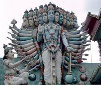 Os dez avatares de Vishnu