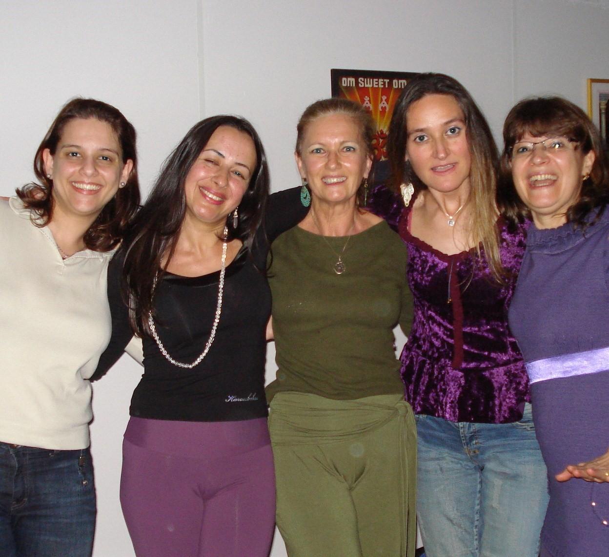 Cinco amigas Yogis