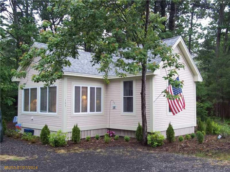 Beautiful cottage in private wooded setting