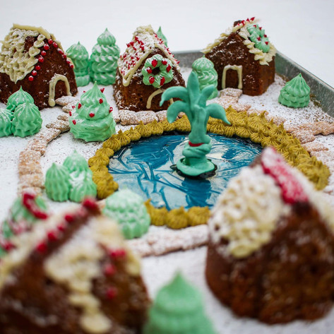 Gingerbread Winter Wonderland