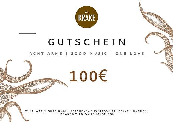 Die Krake Voucher 100€