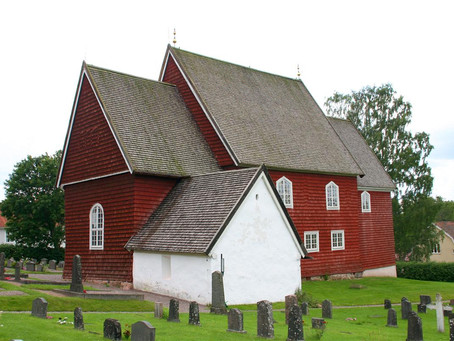 Tidersrums kyrka - Östergötlands medeltida träkyrka