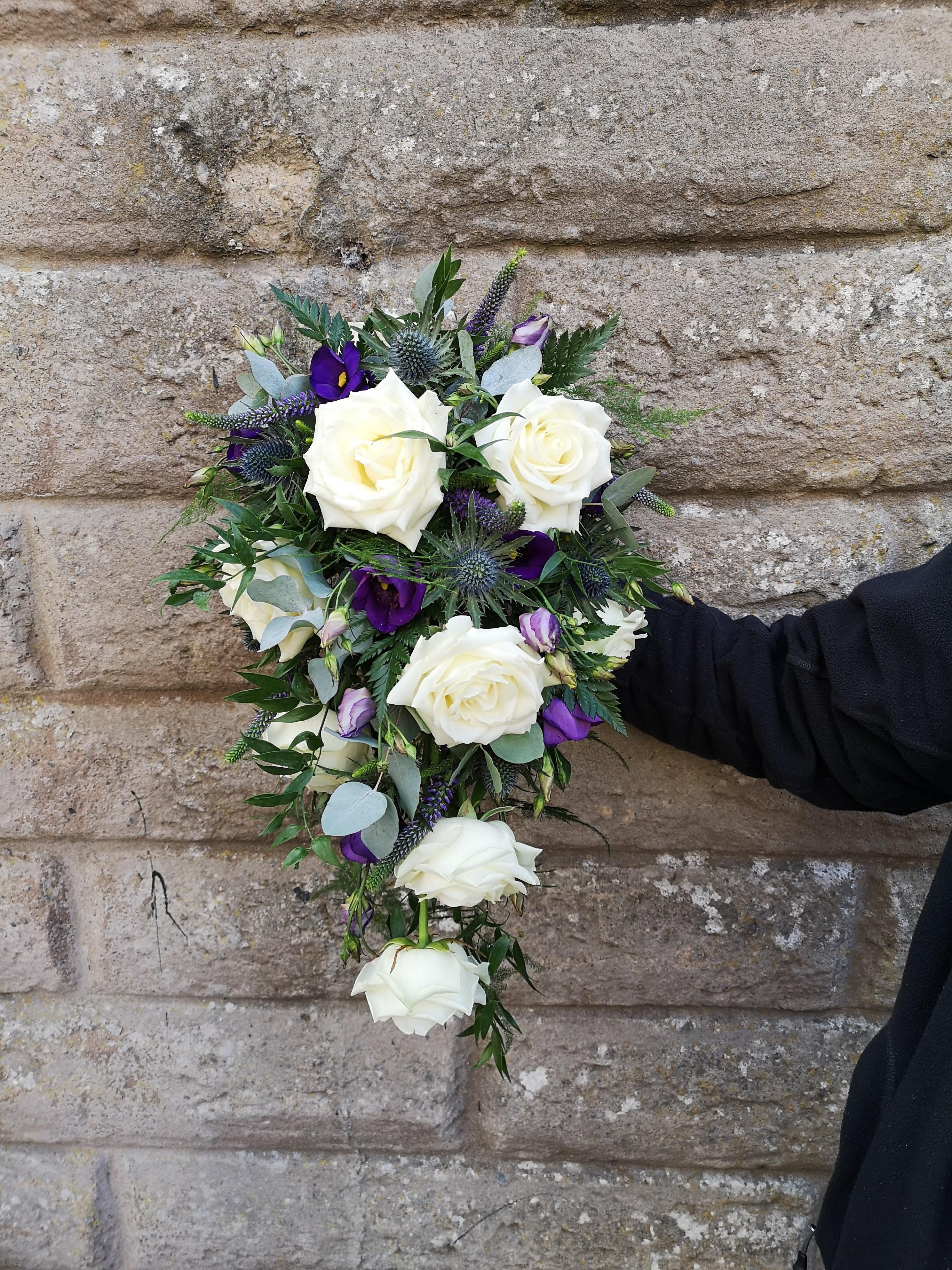 Scottish Themed Shower/Cascading Bouquet