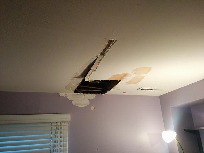 Baltimore Drywall Repair Ceiling Damage