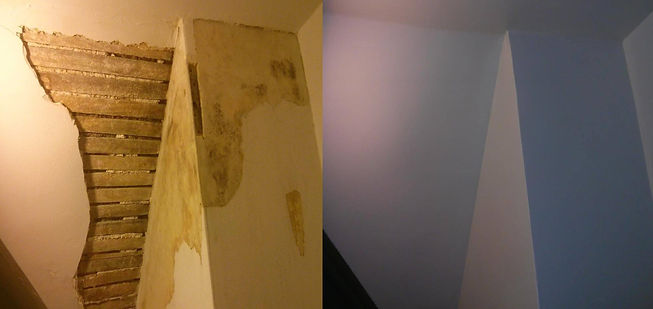 Baltimore Plaster Repair Before and After