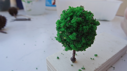 faire soi-même des arbres en HO