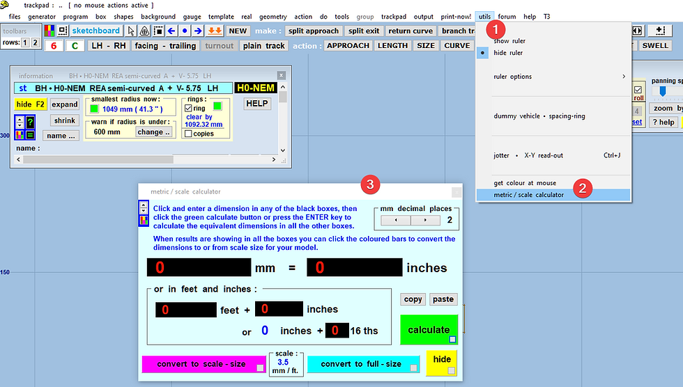 logiciel pour créer des aiguillages