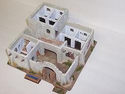 Enduit pour bâtiment miniature