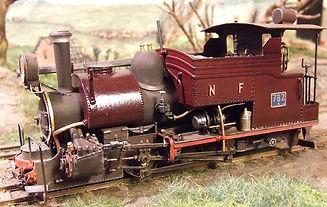 Peinture sur laiton en modélisme ferroviaire