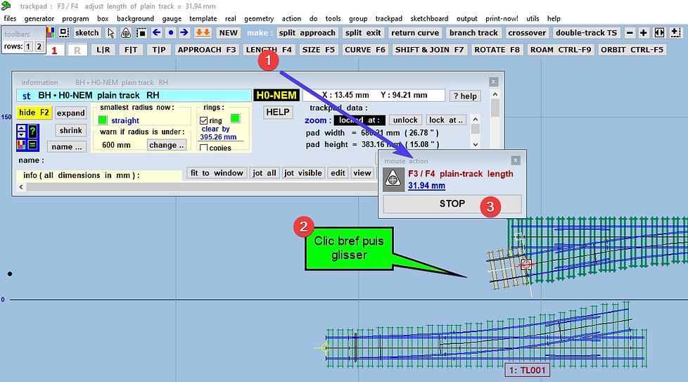 logiciel de conception d'aiguillages