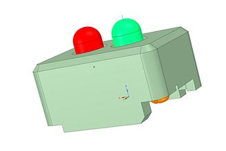 testeur de tension de voie ; testeur de voie