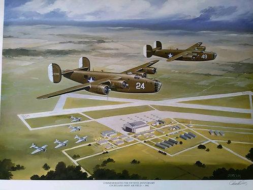 ART:  COURTLAND ARMY AIR FIELD