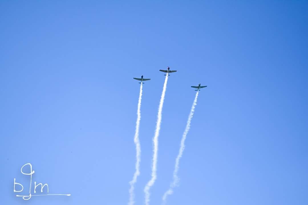 Flyover trio