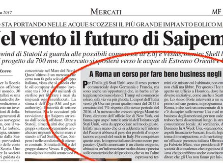 Intervista a Fabrizio Mani su Milano Finanza del 30/06/2017