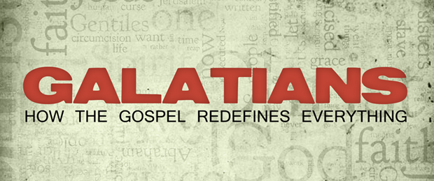Accursed / Cut off from Christ - 1st Sunday School in Galatians