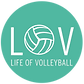 Life of Volleyball-Aqua Round Logo.png