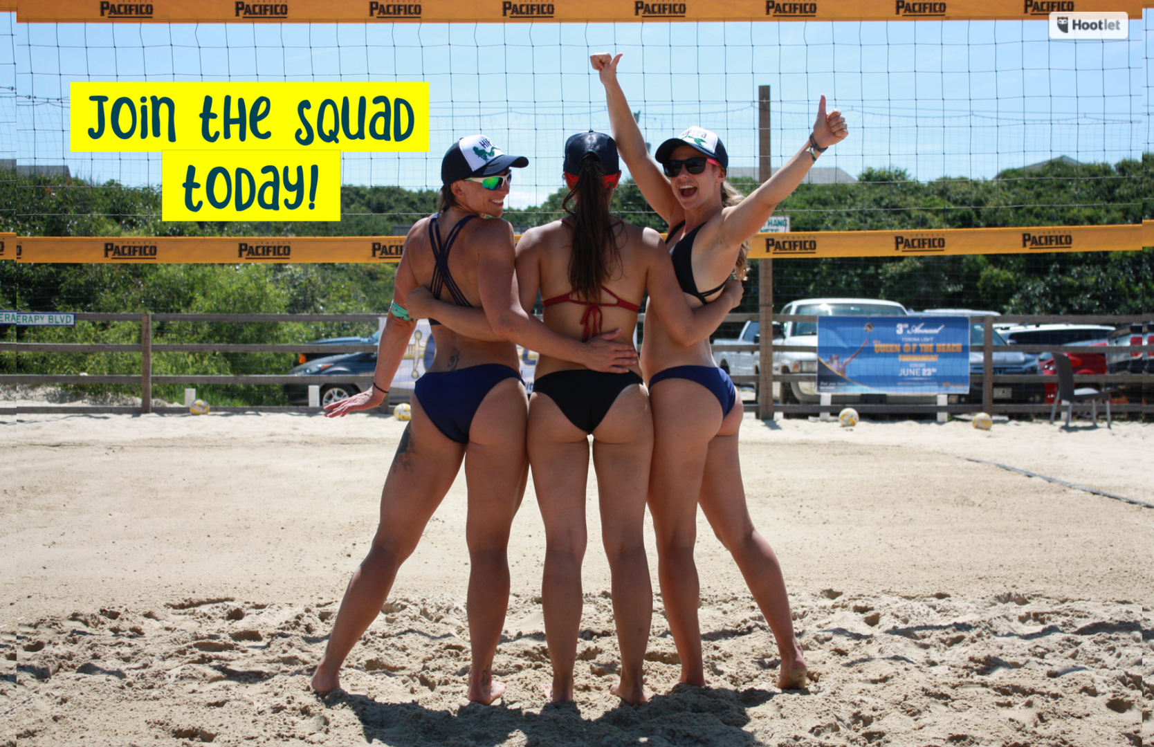 HipSea Swimwear-Join the Volleyball Team
