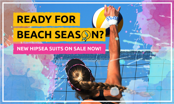 HipSea Swimwear-Ready for Beach Volleyba