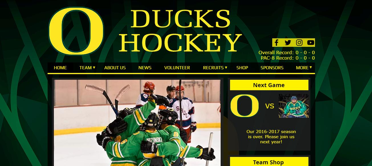 658c367a5 Oregon Ducks Hockey | Shop