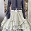 Thumbnail: 66335 Cropped Frilled Striped Jacket