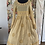 Thumbnail: 55681 Cotton Lace and Patch Long Dress in Wheat