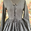 Thumbnail: 55559 Moregana Black Tissue Silk Front Lace Dress