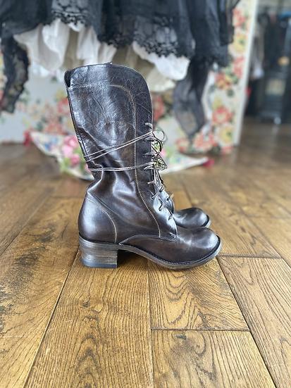 Shoto Heeled Elven Boots