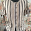 Thumbnail: 44543 Striped Silk Skirt with Tie Sleeves