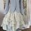 Thumbnail: 66301 Striped Ticking Cotton Canvas Corset Jacket