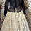 Thumbnail: Lace multi tiered skirt with back tyes