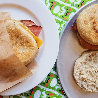 Bacon, Egg & Cheese English  Muffin