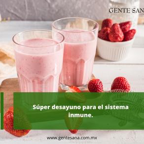 Súper desayuno para el sistema inmune.