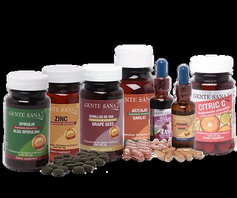 Paquete fortalece tu sistema inmune
