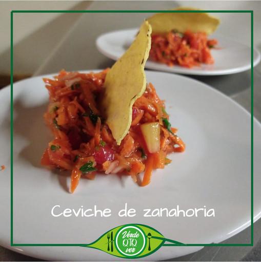 Ceviche de Zanahoria