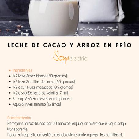 Leche de cacao y Arroz en Frio