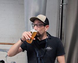 All Season Brewing Head Brewer Erick Gar