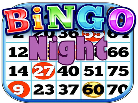 Bingo Night - Saturday 9th March
