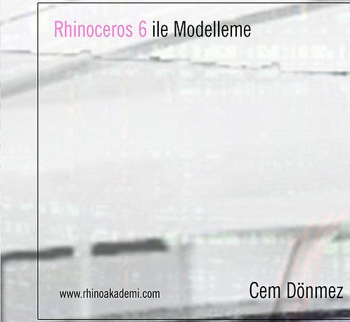 Rhinoceros 6 ile Modelleme DVD Video Eğitim Seti