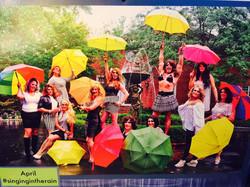 Rubis with Umbrellas