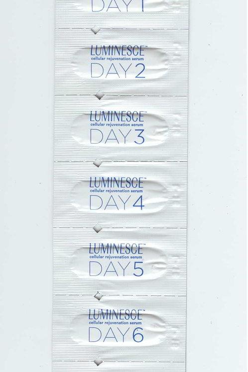סרום לפנים לשיקום העור - 7 דוגמיות ל-7 ימים כולל חוברת הדרכה