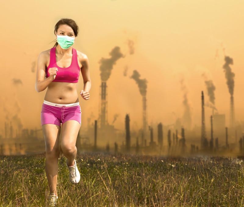 זיהום אוויר, פיגמנטציה בעור ומה שבניהם