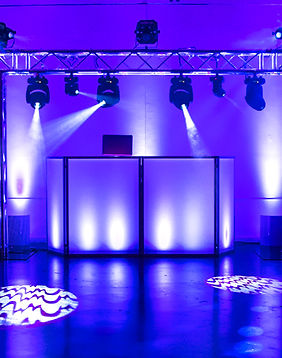 Dj Booth + Trussing