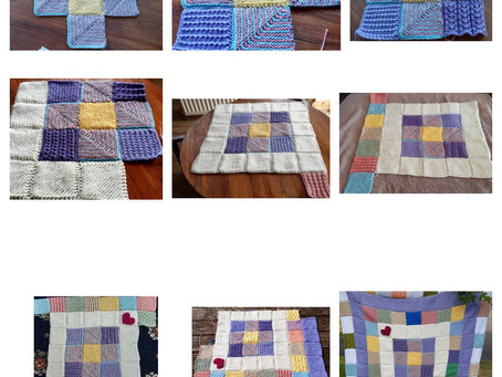 Sewing up your squares