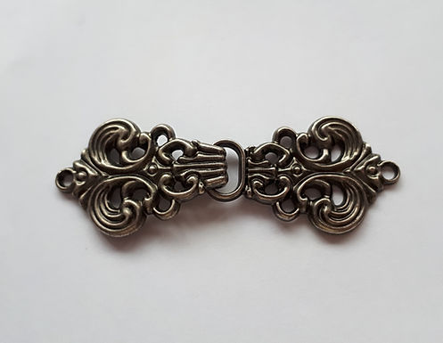 Antique Bronze coloured metal clasp