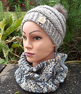 Ballycastle Cowl and Hat