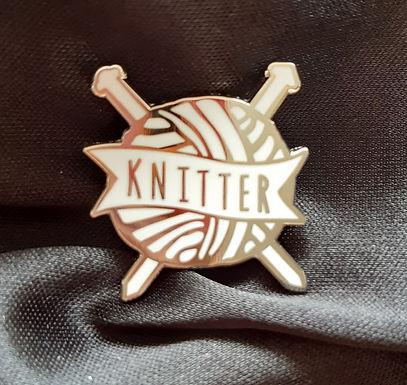Knitter Pin